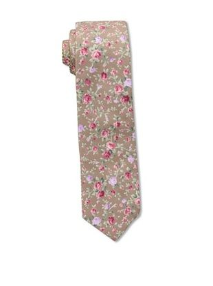 44% OFF Cotton Treats Men's Hugh Reversible Neck Tie, Taupe/Tawny