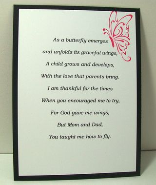 quincenera prayers | This was the poem on the inside left panel. On the right side was ...