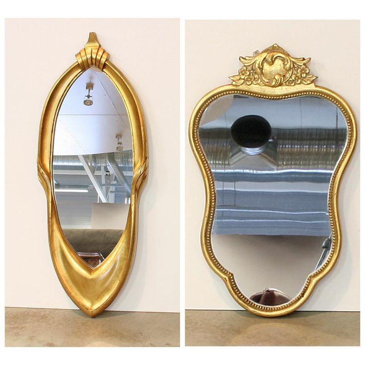 Винтажные зеркала в рамах необычной формыразмера зеркала справа 33 x 53 cm ; размер зеркала слева 31 x 81 cm по 8 500 руб штука#всевопросывотсап89522884944#bufettaburet#мебель #антиквариат #винтаж#необычнаямебель #красиваямебель #старина #красота #стариннаямебелье#предметыинтерьера#дизайнинтерьера #дизайн #интерьер#спб #мск #москва #питер #зима #декабрь #порусски #любовь #design #vintage #love #interior#винтаж