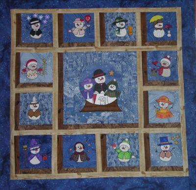 29 best Snowman quilt images on Pinterest   Snowman quilt ... : snowman quilts - Adamdwight.com