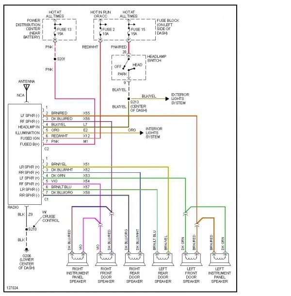 2000 Dodge Ram 1500 Stereo Wiring Diagram With Images Dodge