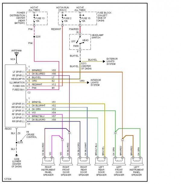 2000 dodge ram 1500 stereo wiring diagram  dodge ram 1500
