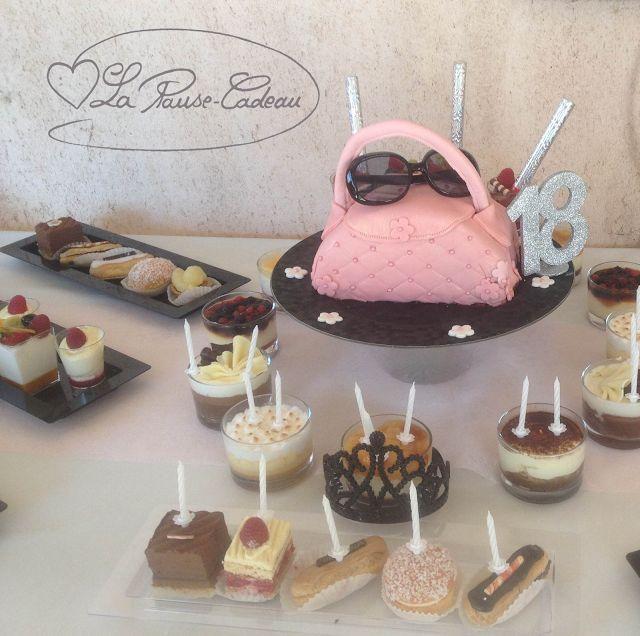 La Pause-Cadeau: 18 ans .... Un gâteau très très mode ..... Jour J