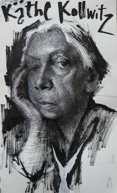 Kathe Kollwitz by the akirA project, via Flickr