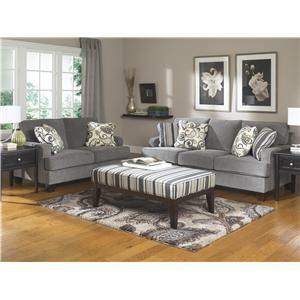 Ashley furniture yvette steel stationary living room - Muebles ashley catalogo ...