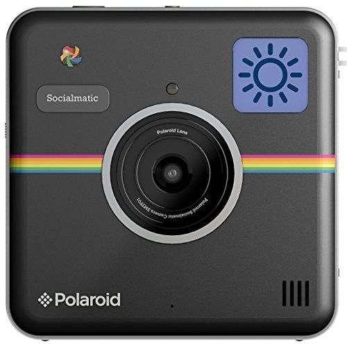 Polaroid Socialmatic Instant Digital Camera (Black) Polaroid