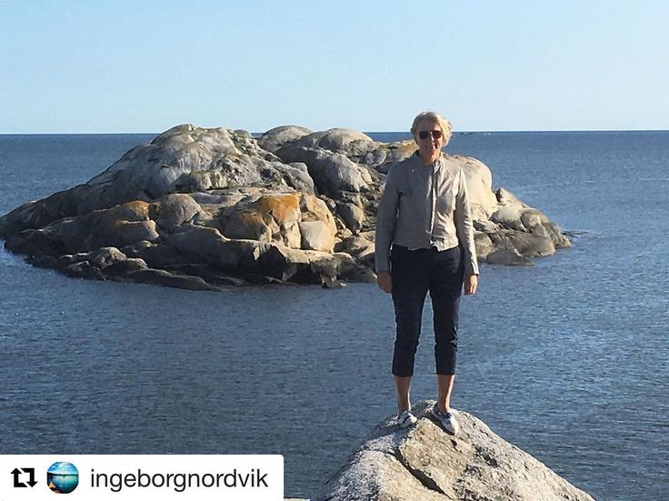 Herlig følelse. #reiseliv #reisetips #reiseblogger #reiseråd  #Repost @ingeborgnordvik (@get_repost)  Fin tur til #verdensende i går med arbeidskollega @bengtmathiesen