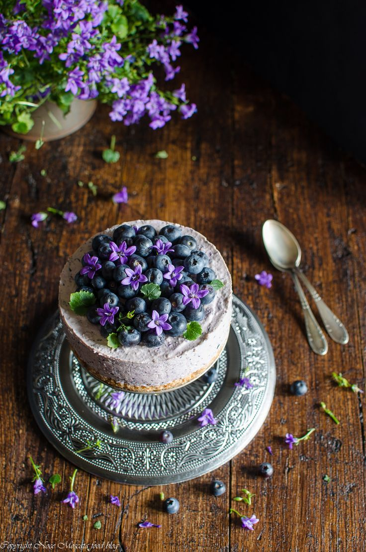 Blueberries food photography  cheesecake ai mirtilli blueberry