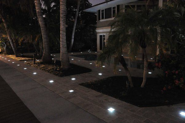 Paver Lights Solar Powered Great Idea Favorite Places
