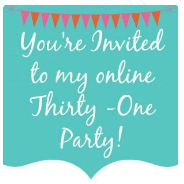 Thirty One online party