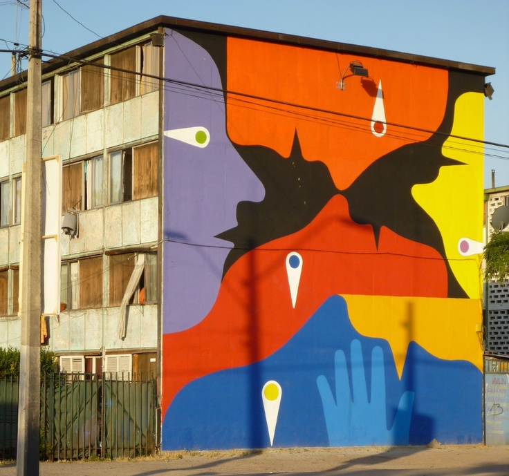 "Alejandro ""Mono"" Gonzalez, muralista Chileno"