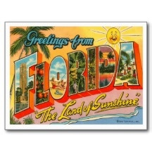 images of vintage florida posters - Google Search