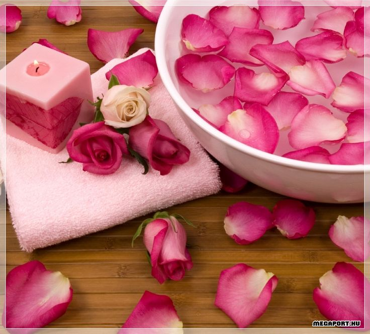 Rose beauty therapy