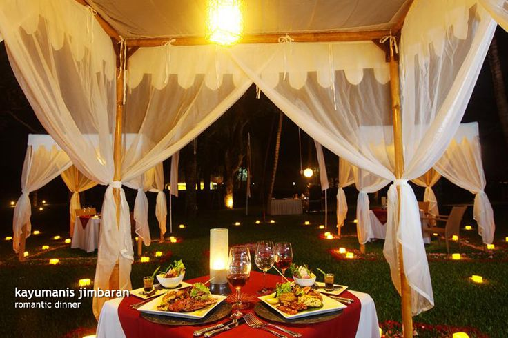Kayumanis romantic dinner