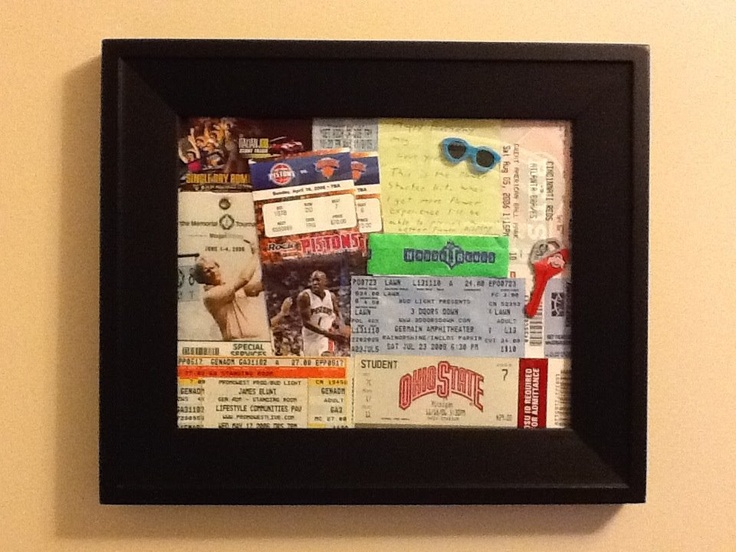 This reminds me that I need to do something with all those MN Twins tickets I have been saving....
