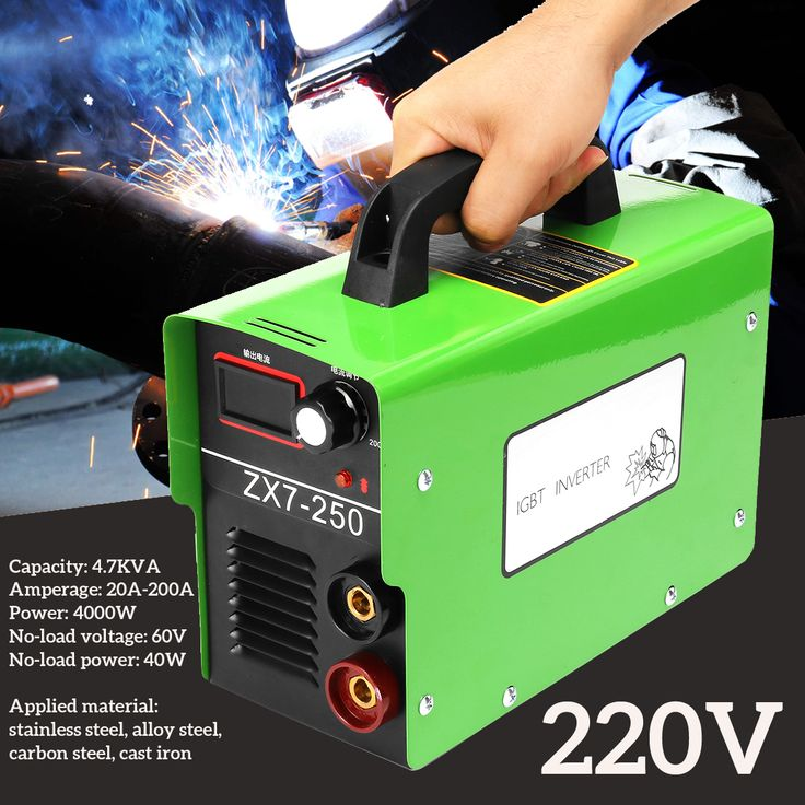 ZX7250 220V 4000W LCD ARC Welding Machine Mini Portable