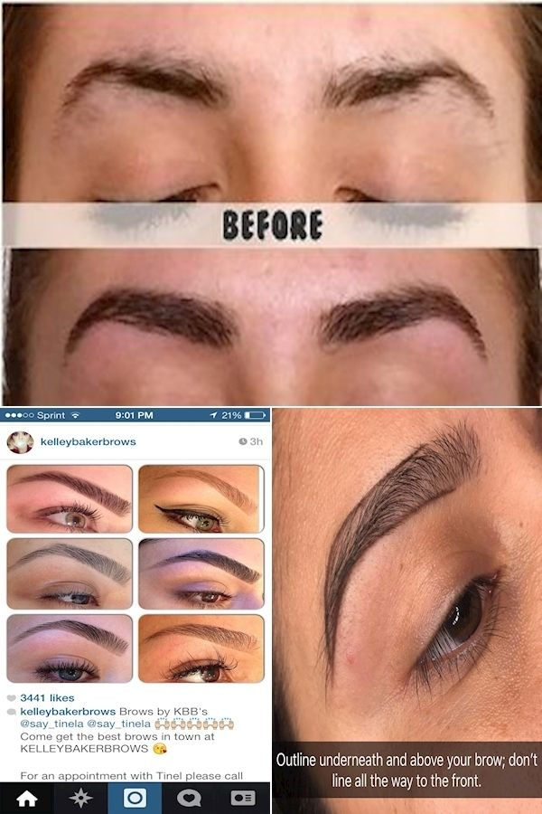 Eyes And Eyebrows   Eyebrow Hair Removal   How To Shape ...