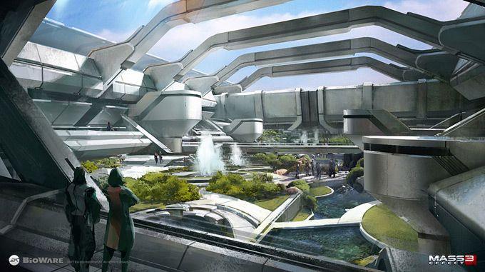Gamekyo : De magnifiques concept art pour Mass Effect