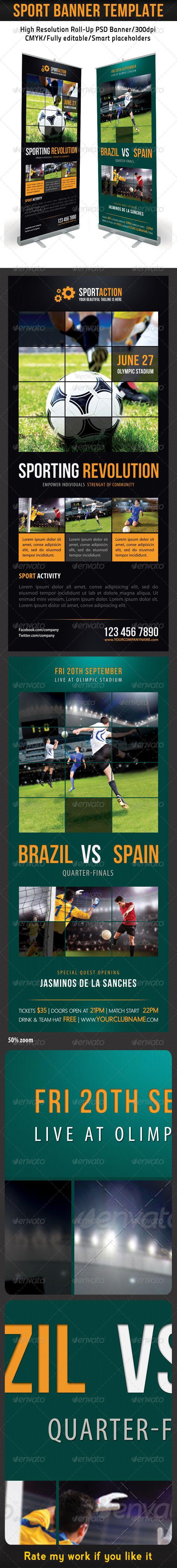 Sport Banner Template 11
