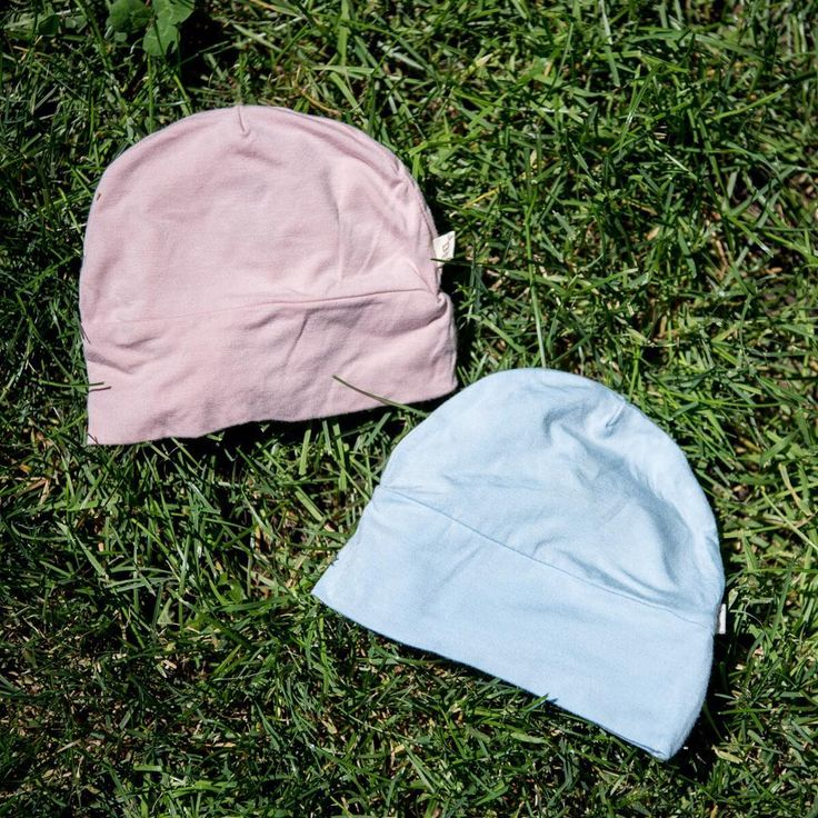 The warmer it gets outside, the stronger the AC blasts inside. Keep your little one's noggin warm with our Baby Beanies!