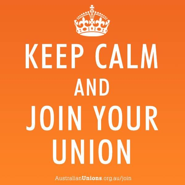 The election result was disappointing, and under a Coalition government it will be more important than ever to join a union to protect your rights at work. | http://www.australianunions.org.au/join