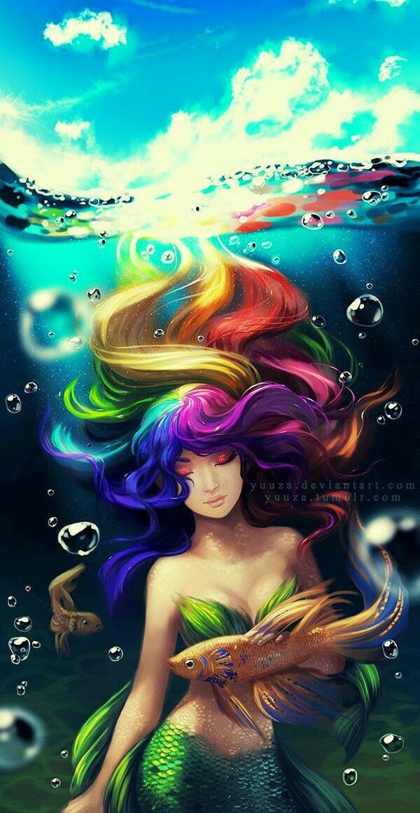 105 best Mermaids with Green Tails images on Pinterest ...