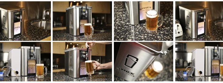 Synek Is Like a Keurig Machine for Draught Beer