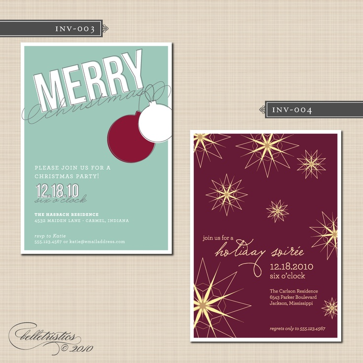 Christmas party invites 11 best christmas party