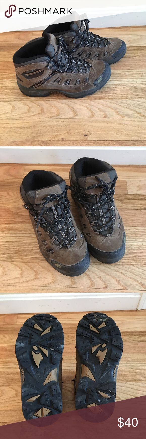 Waterproof hiking boots Hi Tec waterproof hiking boots, great condition Hi Tec Shoes Rain & Snow Boots