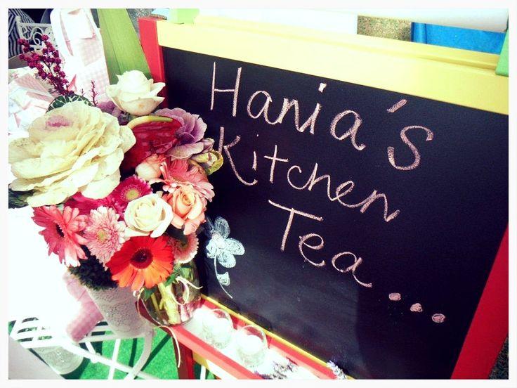 Hania's kitchen tea high tea garden style