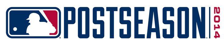 MLB World Series Special Event Logo (2014) - 2014 Major League Baseball Postseason Wordmark Logo