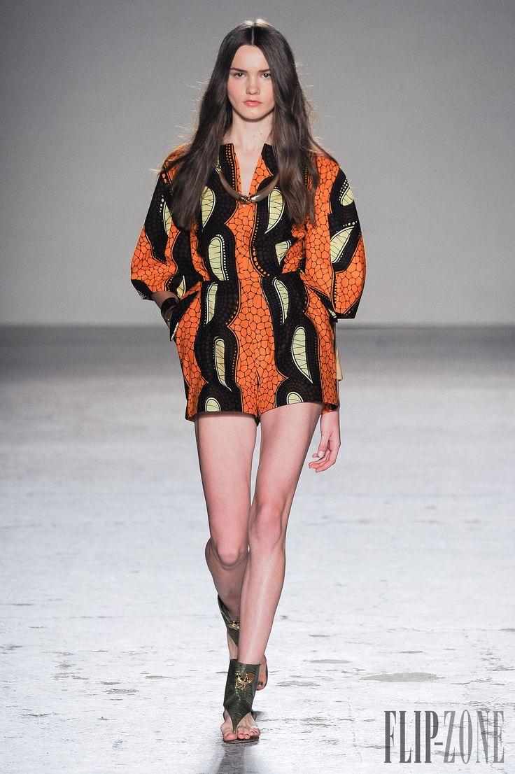 Stella Jean İlkbahar-Yaz 2015 - Hazır giyim