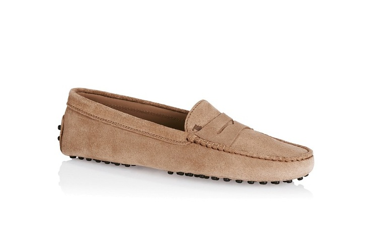 Tods suede driving moc