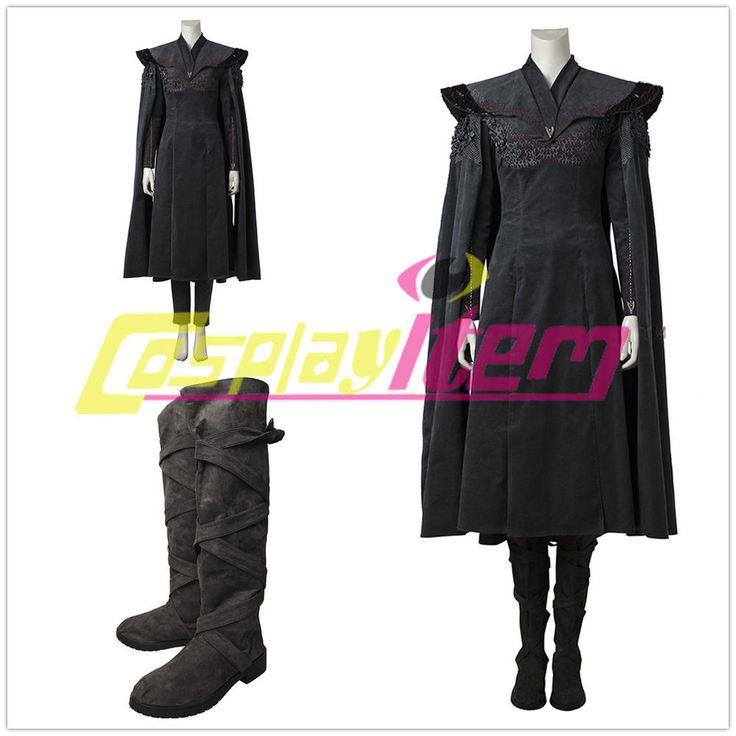 Game of Thrones Season 7 Daenerys Targaryen Dress Halloween Cloak Dress costume    eBay