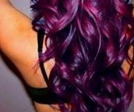 love love love: Purple Hair Colors, I Want Thi, Purplehair, I Wish, Curls, Love It, Haircolors, Purple Love, Eggplants Hair Colors