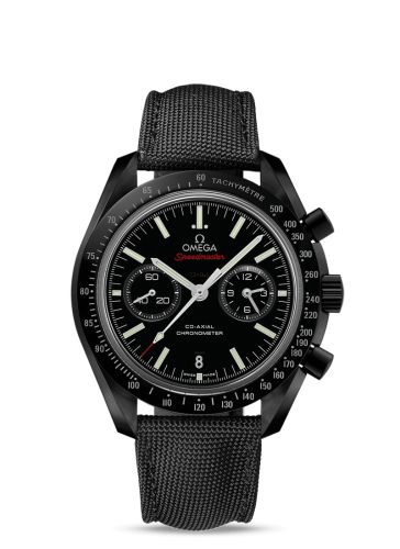 311.92.44.51.01.007 : Omega Speedmaster Moonwatch Co-Axial Dark Side of the Moon Folding Clasp