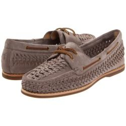 Frye - Quincy Woven Boat (Grey) - Footwear #Women #shoes #boatShoes #Frye
