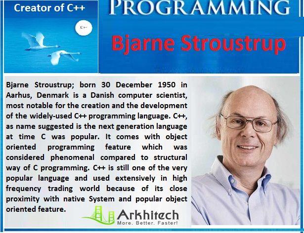 When C Language Gained Momentum.  Journey from C to C++. Meet the Driver: Bjarne Stroustrup #ArkhitechMiscellaneous