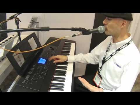 NAMM 2016 Yamaha DGX-660 Digital Piano - YouTube