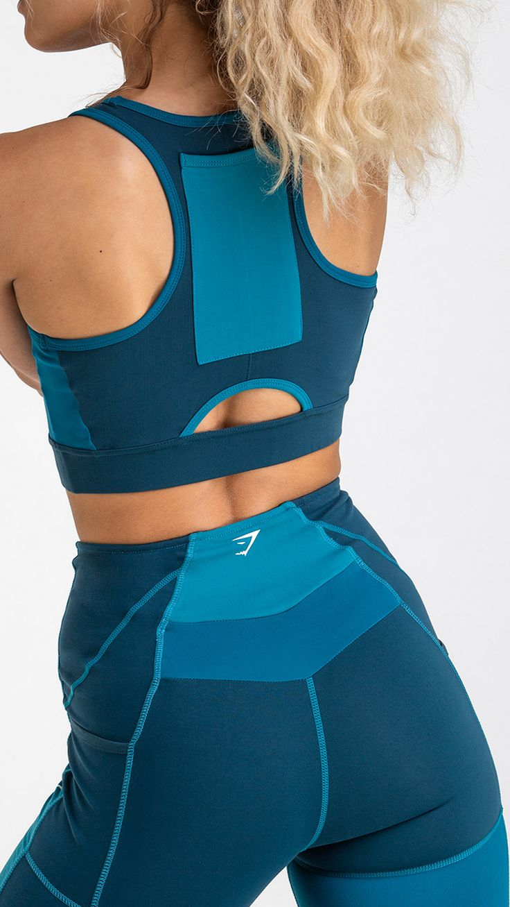 With a racerback design to enhance its free, breathable