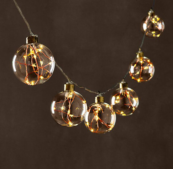 Restoration Hardware Starry String Lights Copper : 655 best Christmas images on Pinterest