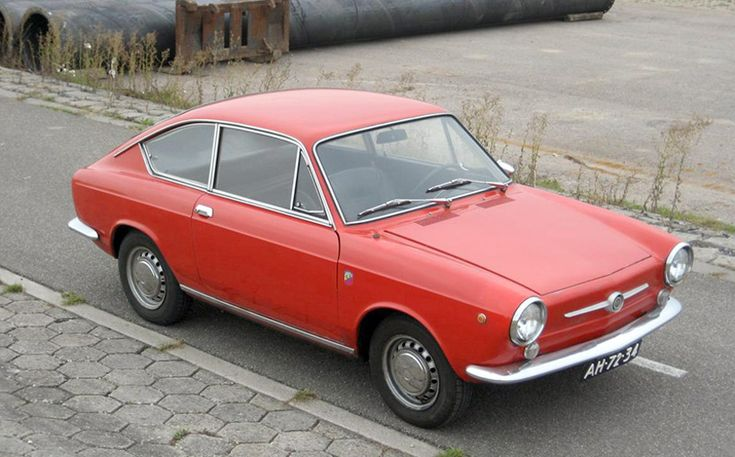 1966-71 Fiat 850 Sport Coupe: Italian Super Mouse Bred for Cool Alley Cats - Shannons Club