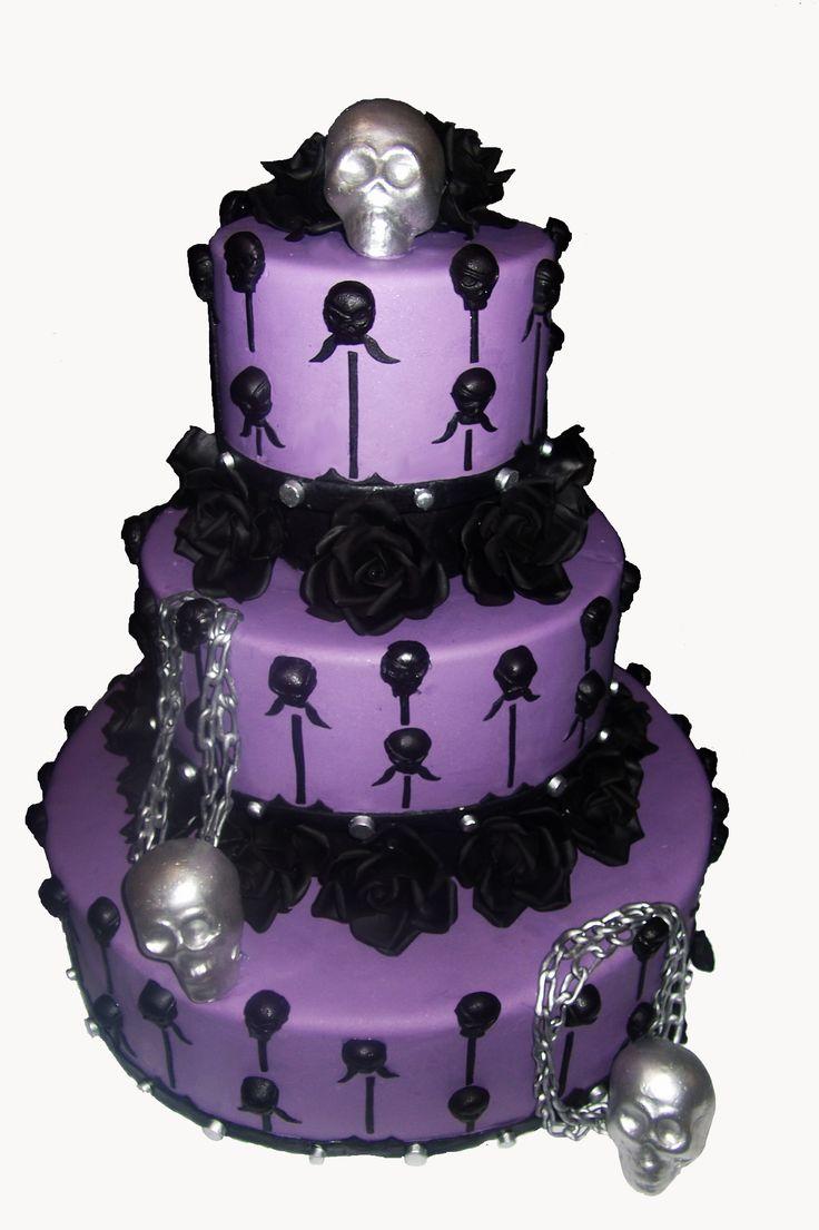 Halloween wedding cake! | Wedding Cakes | Halloween ...