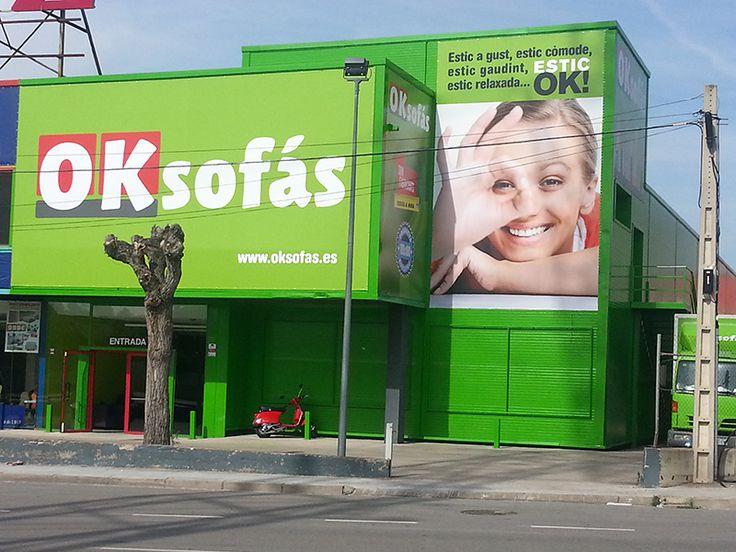 Tienda de #sofas en Terrassa. #oksofas