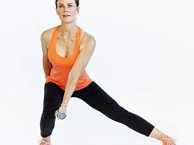 8 Workout Moves With Alison Sweeney | Alison Sweeney, host of NBC's The Biggest Loser, shares her go-to workout.