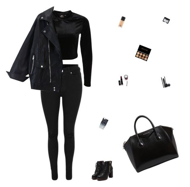 """"""""""" by celmad on Polyvore featuring Dr. Denim, Givenchy, Marc by Marc Jacobs, Rodial, NARS Cosmetics and MAC Cosmetics"""