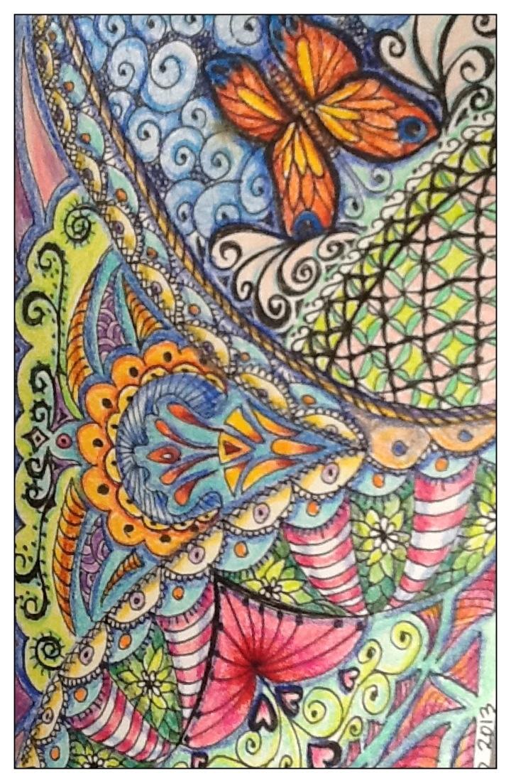 Zen doodle colour - Zen Tangle Zen Doodle Cditerlizzi