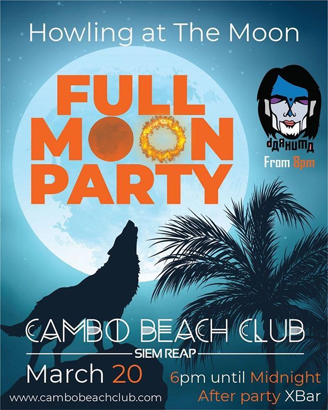 New Update On Our Next Full Moon Party 20 March 2019 Start At 8