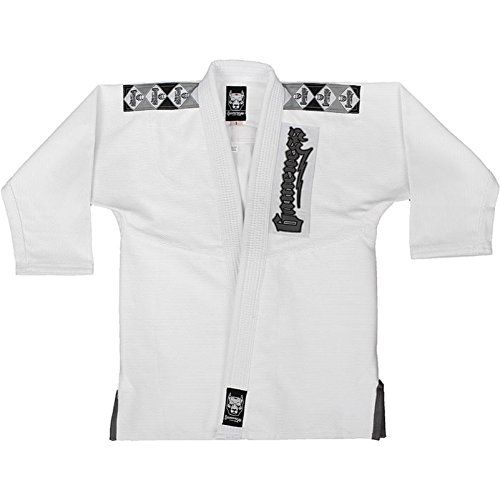 The Gameness Platinum Pup Kids Gi is made with the same quality cotton and unmatched stitching as the adult Platinum! Tournament grade Brazilian Jiu-Jitsu Gi Premium weave made from high quality presh...