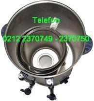 Sanayi Tipi Çay Makinası 0212 2370750 - Krom çelik AÇM40 modeli çay makinesinin iç görünümü; endüstriyel çay makinelerinin satışı için arayabilirsiniz 0212 2370749